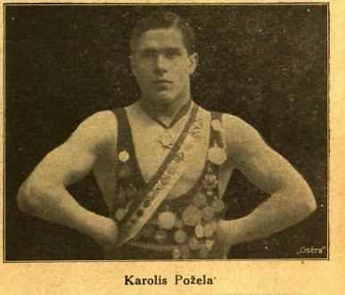 "epaveldas.lt nuotr. /Karolis Požėla 1923 m. ""Sporto"" laikraštyje"