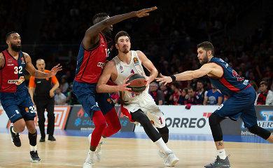 Baskų kovingumo neužteko: CSKA tapo trečia finalo ketverto dalyve