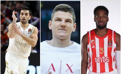 """Eurolyga grįžta: neatsakyti """"Real"""" klausimai, ambicingas """"Zenit"""" ir amerikiečio žinutė Belgrade"""