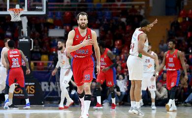 """Galingas ketvirtfinalio startas: CSKA pervažiavo """"Baskonia"""" ekipą"""