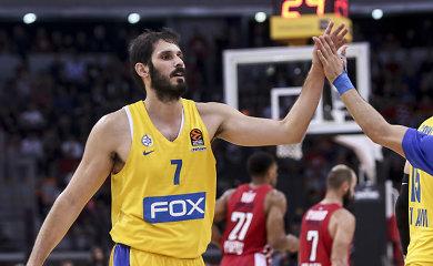 """""""Maccabi"""" žvaigždė grįžo į aikštę po daugiau nei metų pertraukos"""