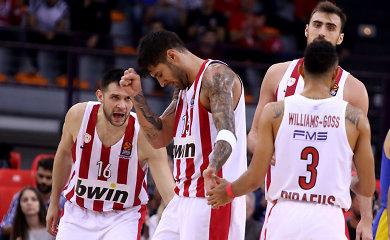 """Graikijos krepšinio klasika: ant neatvykusios """"Olympiakos"""" komandos suolo – negyva višta"""