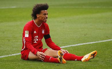 """Nenugalimojo statusas – panaikintas: """"Bayern"""" suklupo po beveik 10 mėnesių pertraukos"""