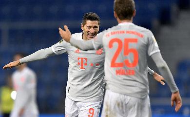 """Vokietijoje """"Bayern"""" nepasigailėjo naujokų"""