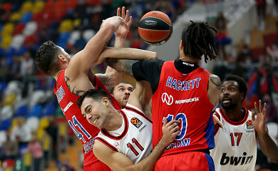 """Geležinę gynybą demonstravusi CSKA nepaliko vilčių """"Olympiakos"""""""