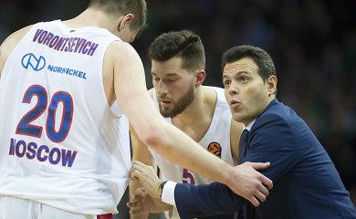 """CSKA padarė išvadas ir antrą kartą nukovė """"Baskonia"""""""