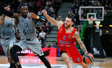 Paskutinio metimo rungtynėse – sensacija: ASVEL parbloškė CSKA klubą