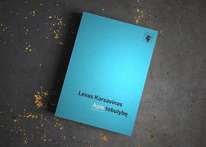"""Levas Karsavinas """"Apie tobulybę"""""""