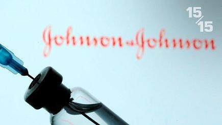 """15/15: Pradedama skiepyti """"Johnson & Johnson"""" vakcina – kokie jos privalumai ir trūkumai?"""