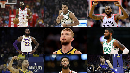 """""""Atsarginiai"""": """"Celtics"""" trenerio įvertinimas D.Saboniui, K.Porzingio vilionės ir visos žvaigždės"""