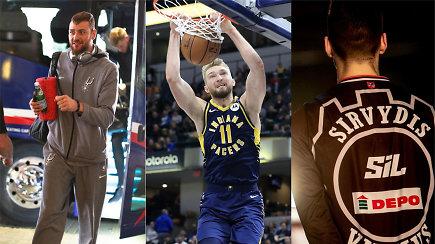 """""""Ginčas"""": ar D.Motiejūnas grįš į NBA, kokia ateitis laukia D.Sabonio ir kitų lietuvių?"""