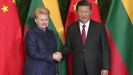 Dalia Grybauskaitė susitiko su Kinijos prezidentu: Lietuvos verslams atsivers didžiulė šios šalies rinka