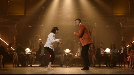 Eurolygos pristatymo klipe – Pauliaus Jankūno šokis