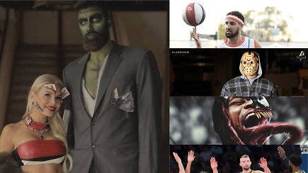 """""""Atsarginiai"""": nuostabūs Jono Valančiūno ir žmonos kostiumai, tiesa apie rekordą ir baisiausia NBA savaitė"""