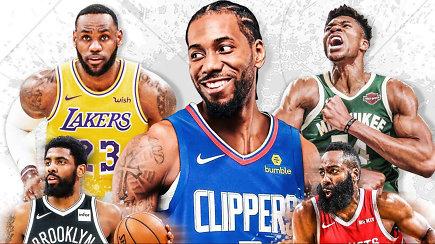 """""""Atsarginiai"""" ir beprotiška NBA vasara"""