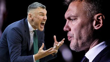 """""""Ginčas"""" dėl """"Žalgirio"""" trenerio: kiek pralaimėjimų gali atlaikyti Šaras?"""