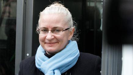 N.Venckienė atvesdinta į teismą, kur bus sprendžiama dėl jos kardomosios priemonės
