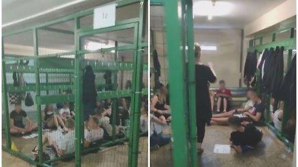 Moksleivis Kretingoje nufilmavo kokiomis sąlygomis per karščius vyksta pamokos
