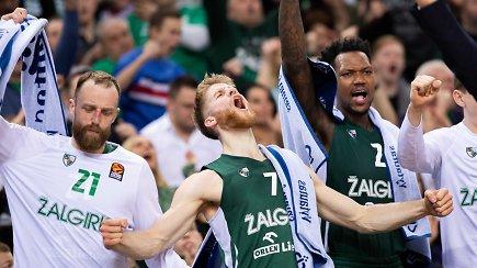 """Nenusileidžia ir NBA: """"Žalgirio"""" dėjimas tarp gražiausių Eurolygos sezono epizodų"""