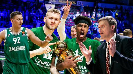 """""""Ginčas"""": ar pelnytai """"Žalgiris"""" tapo LKL čempionu?"""