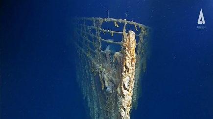 """Naujausia ekspedicija atskleidė, kaip sparčiai nyksta """"Titanikas"""""""