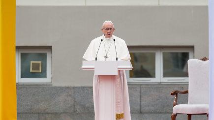 """Popiežius Pranciškus Lietuvoje: """"Galite tapti tiltu tarp Rytų ir Vakarų"""""""