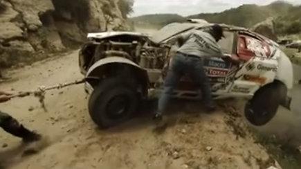 Neskelbti pokalbiai: pavojingiausia Benedikto Vanago ir Sauliaus Jurgelėno akimirka 2013 m. Dakare Peru