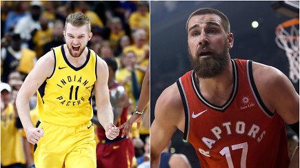 """""""Ginčas"""" dėl D.Sabonio ir J.Valančiūno: kuris bus geresnis naujame NBA sezone?"""