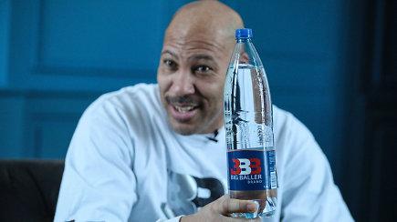 """LaVaras Ballas: """"Lietuva turi geriausią vandenį pasaulyje!"""""""