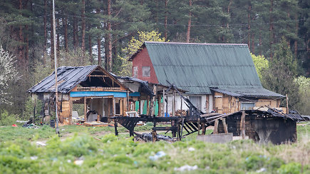 Vilniaus taborui – paskutinės dienos. Žmonės griauna savo namus