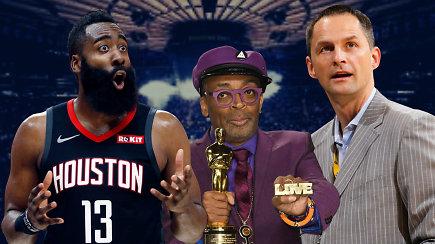 """""""Atsarginiai"""": arčiausi pirmųjų NBA žiedų, žvaigždžių apsižodžiavimai ir """"Knicks"""" akibrokštas"""