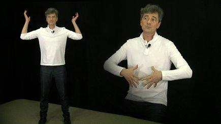 Užkurkite organizmą: Sauliaus Urbono sukurta 3 minučių mankšta