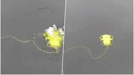 Specialistų, dirbančių vandenyje, arsenale atsiradęs dronas