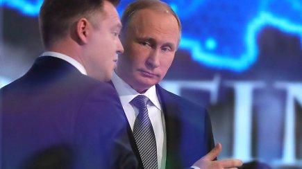 """Tradicinis V.Putino šou: """"Panama Papers publikacijų autoriai nepataiko į taikinį"""""""