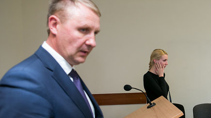 Nufilmuota A.Šedžiaus ir M.Šedžiuvienės akistata teisme