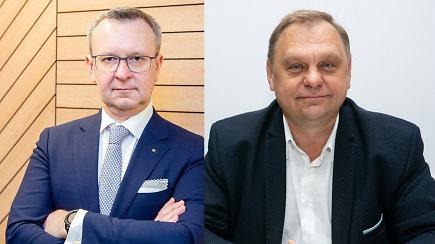 Sulaikyti Lietuvos verslo konfederacijos ir Bankų asociacijos prezidentai – abejonių kelia 400 tūkst. eurų suma