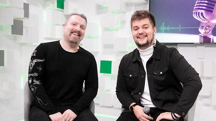 Susiporavusių Dainoto Varno ir Deivydo Zvonkaus mini koncertas – netrūko ir šokių