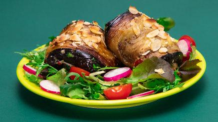 Tobuliems pietums: vištienos ir baklažanų suktinukai
