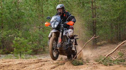 """Vilniaus rajone įvyko pirmasis šiais metais motorientacinis žaidimas """"Adventuras Ride 2021"""""""