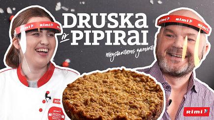 """""""Druska ir pipirai"""": norite traškaus obuolių pyrago? Kiaušinius keiskite... avižiniais dribsniais"""
