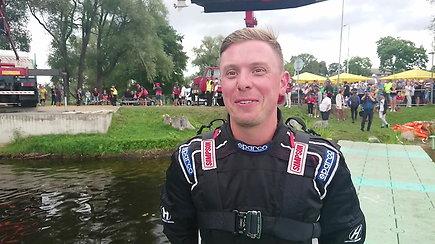 Edgaras Riabko tapo Europos vandens formulių F2 čempionu
