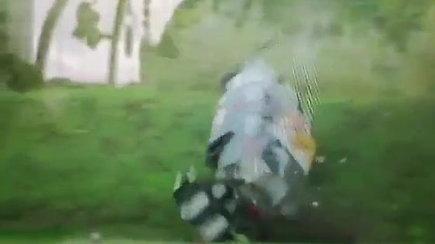 """Skuba Racing Team"" avarija Estijoje, BEC 4 h finale"