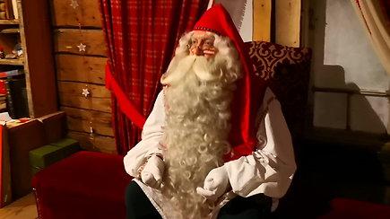 """""""Santa Park"""" Rovaniemyje, Suomijoje: pokalbis su Kalėdų Seneliu Nr.1"""