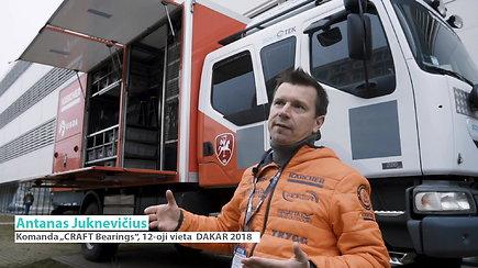 Antanas Juknevičius Dakaro ralyje energijos gaus iš saulės