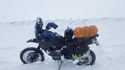 Karolis Mieliauskas motociklu važiuos į šalčiausią pasaulio gyvenvietę – Oimiakoną