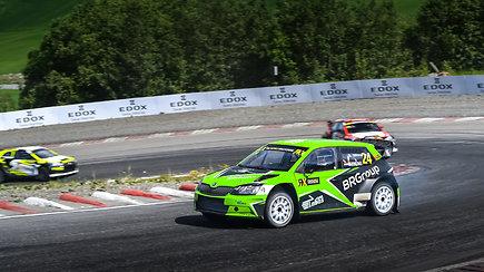 "Lietuviškos privačios komandos ""ESmotorsport Labas-Gas"" debiutas WRX su Kevinu Abbringu"