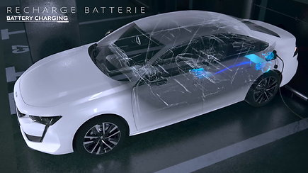 """Hibridinis """"Peugeot 508"""" 100 km teoriškai gali nuvažiuoti su 1,3 l benzino"""