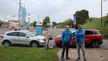 Eksperimentas: kuri transporto priemonė Vilniaus centre greičiausia ir pigiausia?