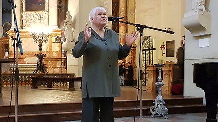 Organų donorystės dienos minėjime – dainininkė V.Povilionienė, transplantacijos pradininkai V.Sirvydis ir B.Dainys