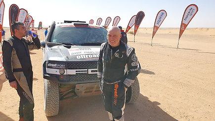 Dakarsko dienoraštis: sportinių automobilių kūrėjas iš Čekijos Miroslavas Zapletalis